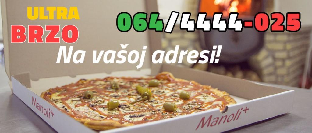 Manoli PIZZA dostava